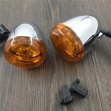 orange front Turn Signal Light For Harley Davidson XL883 XL1200 Sportster 92-16