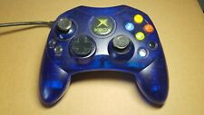 Official Microsoft X-Box Controller S Clear Blue Ice XBOX