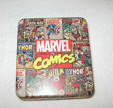 MARVEL Comics Genuine Leather Trifold Wallet with Collector Tin NEW