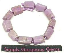 11 Pretty Natural Cut Tube Shaped Phosphosiderite Gemstone Beads - 8-10 * 7-7 mm
