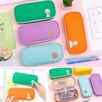 Multifunction Pencil Case Large Capacity Pen Box School Cosmetic Bag Stationery~