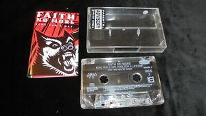 FAITH NO MORE King For A Day Fool For A Lifetime SLASH 1995 EX/EX  tape cassette