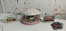 More details for fairground scale models with carousel and people