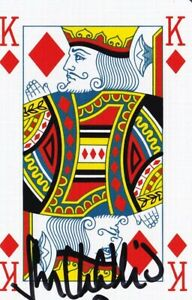 John Challis - Only Fools and Horses Signed Playing Card