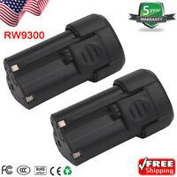 2X For Rockwell RW9300 12V 2.0Ah LithiumTech Battery RK2515K RK2512 RK2510 Drill