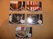 THE PRISONER 2010 AMC REMAKE SET OF 5 SAN DIEGO COMIC CON PROP CARDS McGOOHAN