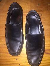 Calvin Klein men shoes 10.5 W comfort loafer Neil dress comfort  Slip On leather