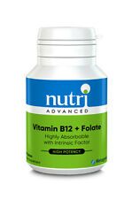 Nutri Advanced Vitamin B12 + Folate 60 Tablets