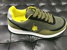 Scarpe da uomo Polo Sport H023-Sam verde nero 4045 sneakers sportiva passeggio