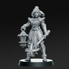Zoe Leung-Hembra Paladin compatible con Mordheim, aos, Warhammer & Dnd