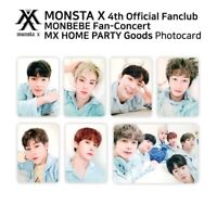 MONSTA X 4th Official Fanclub MONBEBE FANCON MX HOME PARTY Official Photocard