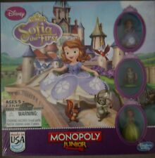 Disney's Sofia the First Monopoly Junior Board Game New Sealed Hasbro