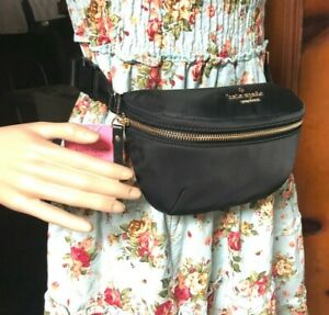 Kate Spade watson lane betty belt bag fanny pack crossbody nylon black New NWT
