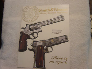 SMITH & WESSON factory engraving catalog