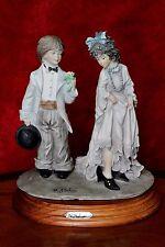 Vintage A.Belcari Capodimonte Porcelain Figurine