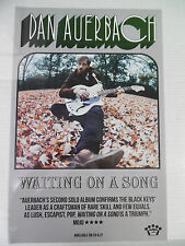 "Dan Auerbach - Waiting on A Song * 11"" x 17"" promo poster - FREE SHIPPING TO USA"