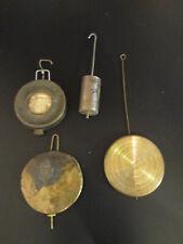 Lot of 4 Mantle, Shelf Clock Pendulums. (738A31)