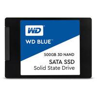 """WD 500GB Blue 3D NAND SATA III 2.5"""" Internal SSD - WDS500G2B0A"""