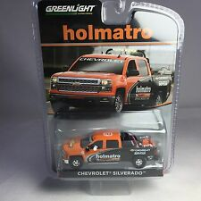 GREENLIGHT 1/64 2015 CHEVROLET SILVERADO WITH EQUIPMENT HOLMATRO DIE-CAST 29903