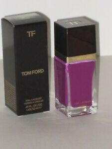 TOM FORD NAIL LACQUER # 08 AFRICAN VIOLET 12 ml. MADE IN FRANCE. NEW WITH BOX.!