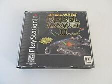 Star Wars: Rebel Assault II -- The Hidden Empire (Sony PlayStation 1, 1996)
