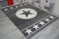 Kinderteppich Stern Star grau in diversen Maßen TOP Angebot