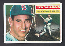 Ted Williams Danbury Mint Porcelain Reprint Card 1956 Topps #5
