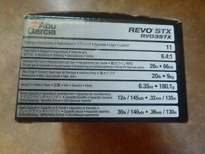 Abu Garcia REVO STX  RVO3stx in box