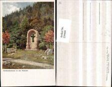 239444,Künstler AK Hugo Darnaut Heldendenkmal in d. Walster b. Mariazell