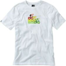 Madison Tech France Short Sleeve Mens Cycling Top - White