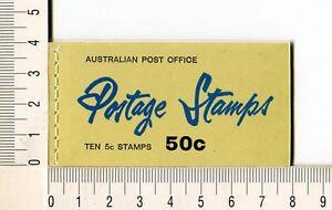 41134) AUSTRALIA 1967 MNH** QEII 5c (x10) n.386c  Booklet SG B42 -Imperf L & R