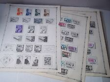 Malaysia stamps 1960's; plus some Nepal & Burma stamps; mounted on album pages.