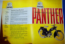 1950'S PANTHER MOTORCYCLE, SALES BROCHURE - ANTIQUE - VINTAGE - (copy) -Bobby 6