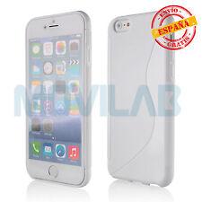 Funda gel / TPU Apple Iphone 6 PLUS / 6S PLUS 5.5´ blanca diseño S-Line