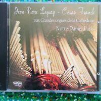 Notre Dame de Paris - Jean-Pierre Leguay & Cesar Franck (CD) Organ *MINT DISC*