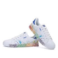 Herren Damen Unisex Schuhe Sneaker Turnschuhe Laufschuhe Schnür Freizeitschuhe