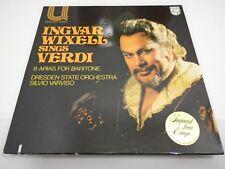 VINTAGE RECORD INGVAR WIXELL SINGS VERDI ARIAS DRESDEN SILVIO VARVISO IMPORT