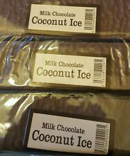 Milk chocolate covered Coconut ice 2 x 150g bars