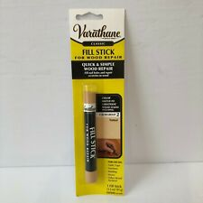 Varathane Rust-Oleum ~Fill Stick For Wood Repair ~ Color Group 2 ~ Natural ~ New