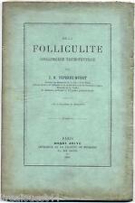 De la folliculite conglomeree trichophytique Deperet-Muret Jouve 1892 EA