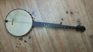 Ancien Banjo signé HAYNES