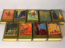 Abenteuerromane aus der Karl May - Reihe  Band 21-28 und 30  Beschreibung  lesen