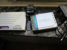 Turbolink ADSL Modem sphairon AR800E1-B D-Link DI-604 Router Ethernet Broadband
