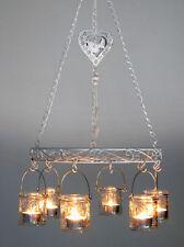 Deko-Hängeleuchter aus Metall für Teelichter