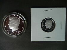 2019 s .999 silver proof Kennedy half dollar + 2019 s .999 silver proof dime