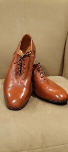 Florsheim Designer Collection Tan Captoe Dress Shoes 13 D