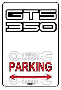 Parking Metal Sign - Holden GTS 350  Logo