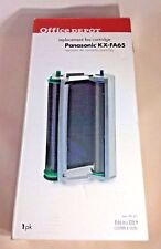 Panasonic KX-FA65 Fax Film Cartridge Office Depot 1 pk Black