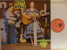 Kitty Wells- The Golden Years '49-'57 Vol.5- LP 1987 D - Bear Family BFX 15239