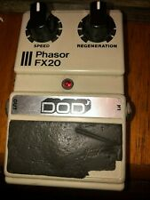 Vintage Early Dod Fx20 Phasor Guitar Effects Pedal